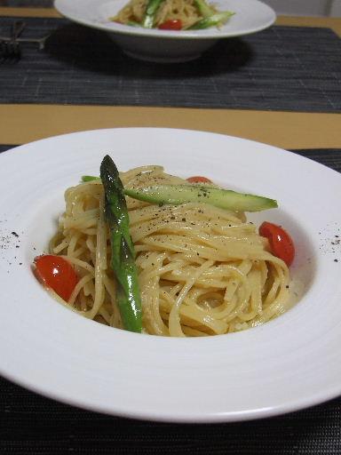 バーニャカウダパスタ2010_1113.JPG
