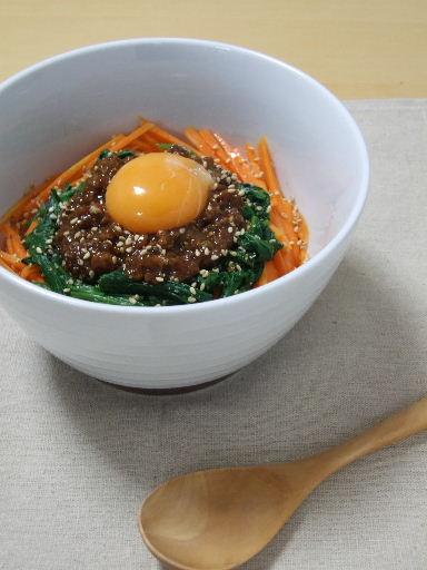 ビビンバ風肉味噌ごはん2010_0926.JPG