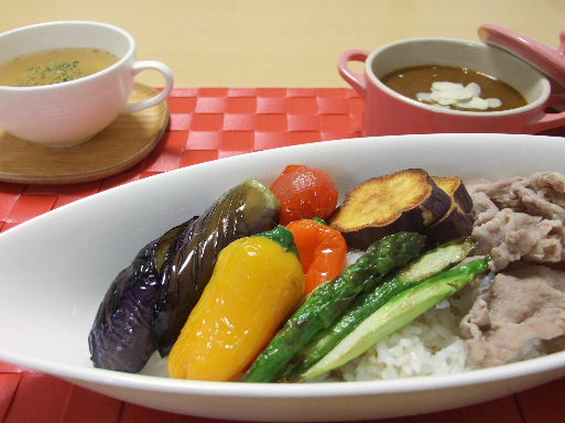 彩り揚げ野菜カレー2010_1012.JPG
