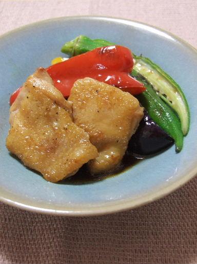 鶏肉と彩り野菜の焼きびたし2010_0830.JPG